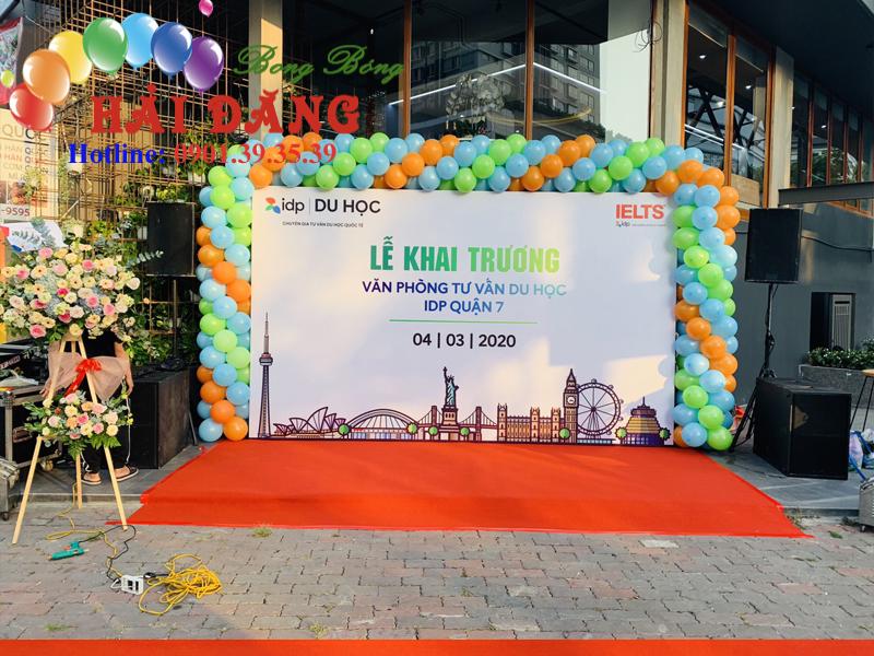 Khung Backdrop Khai Trương