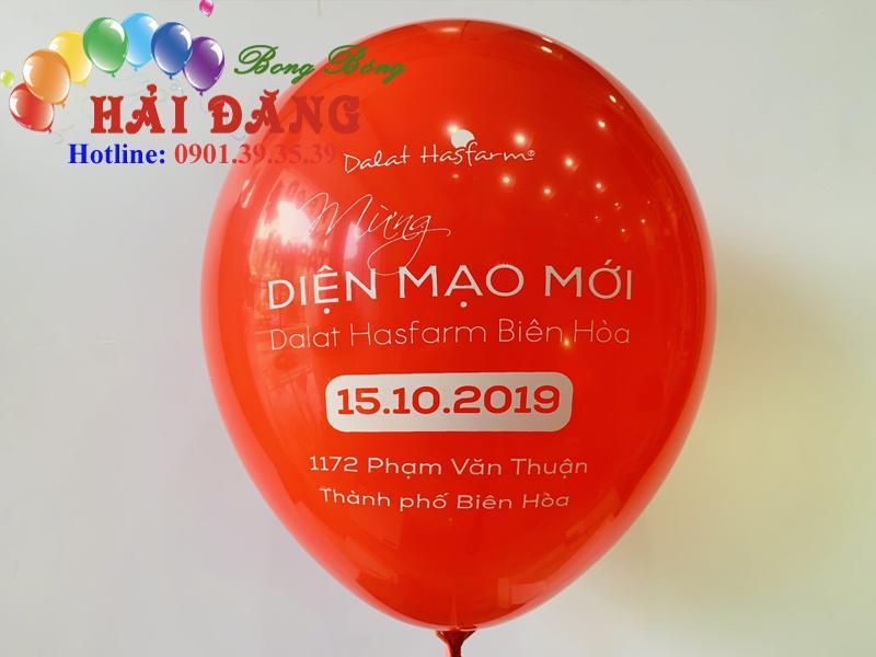 In Logo Lên Bong Bóng
