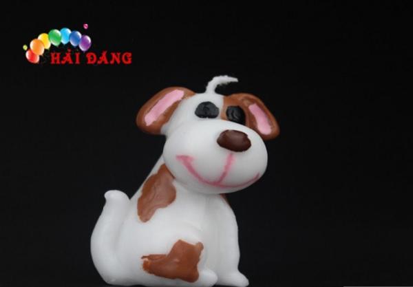 Nến sinh nhật hình chó đáng yêu